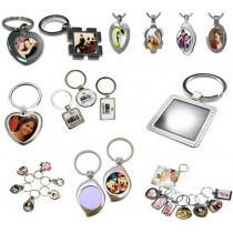 Metal Keychain With Personalized Photo Print