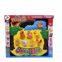 PS668-3 Animal Paradise Musical Piano Toy