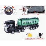 Big Size Oil Tanker R/c Truck Super Speed 666-745