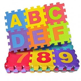 Kids Foamy ABC Puzzle Mat Small Size