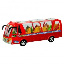 2608B Top Public Bus Toy With light and Music