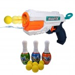 648-31 Bottle Shoot 2 in 1 Magic Gun