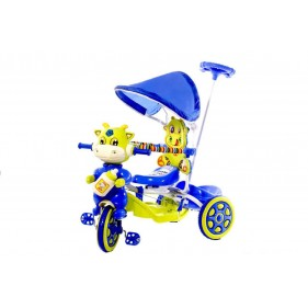 Luusa Hunny Bunny Tricycle With Hood And Shed