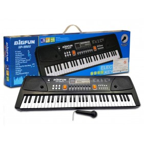 BF-630 Electronic Keyboard Piano with Led Display & Microphone