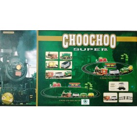 19020B Choochoo Super Train With Track And Smoke