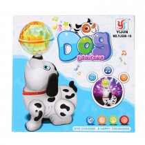 YJ388-19 3D Dancing Dog Toy