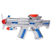 688-A5 Space Fan Gun Toy With Light And Music For Kids