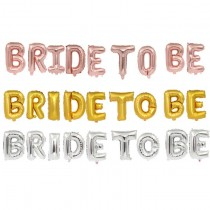 Bride To Be Foil Balloon 9 pcs Pack