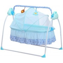 808 Electronic Musical Baby Cradle With Remote Control