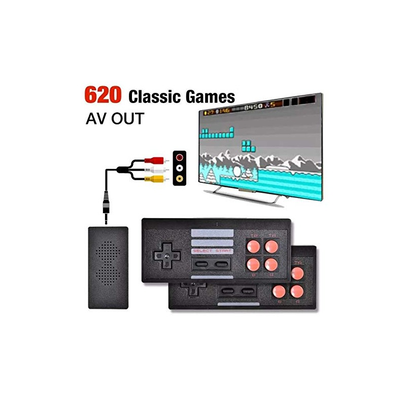 Extreme Mini Game Box With Two Wireless Remotes And Builtin Games