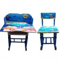 Heavy Duty Study Table Chair Set With Adjustable Size For Kids