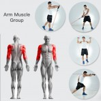 Double Toning Tube Strength Trainnig For Exercise
