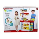 Big Size Kitchen Game Western Style Shop Remote Control Play set, 889-73
