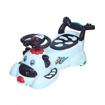 Cow Magic Swing Car With Lights , Music And Back Support