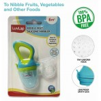 Luv Lap Silicon Food And Fruit Nibbler For New Born To 18 Months