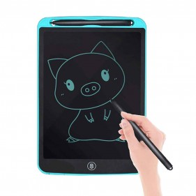 Portable LCD Writing RuffPad Re-Writeable 21.59Cm For Kids And Adults - MS1201