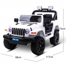 Battery Jeep Ride-on Toy For Kids 159 With 12V Battery And Remote Control