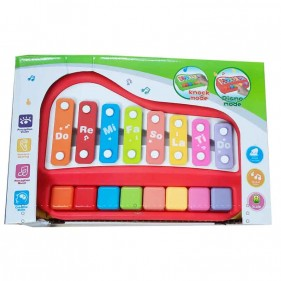 Xylo Piano Non Electronic Xylophone Toy Soft Finger Touch Music And Stick -5200-45 Xylophone