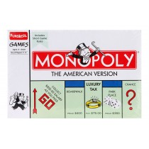 Monopoly American Version A Complete Family Game By