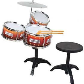 2008A Jazz Drum Toy With Stool