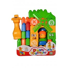 35PC Dream Play Ground Blocks Set SC0007