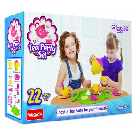Giggles 22 Pc Tea Party Set Multi Color