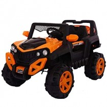 Battery Operated Jeep 101 Ride On With Remote Control Two Battery Two Motor ,USb Support And Swing Feature