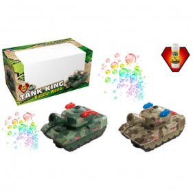 BT-2214E Tank King Bubbles Tank Toy