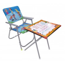 Fun Time Foldable Table Chair