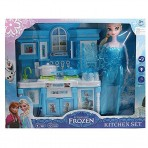 8804 Frozen Kitchen Set Household Set With Light And Music
