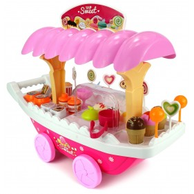 668-30 Sweet Shop Luxury Candy Car Cum Ice Cream set 37 PCs