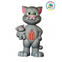 213A Talking Tom With Recording And Multiple Functions