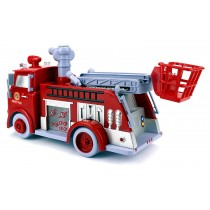 B838B Pumper Fire Truck With Bubbles ,Light And Music