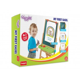 Giggles My First Easel 4 In 1 Multicolor