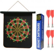 1268 Magnetic Dart Board Double Side With 2 Darts Included
