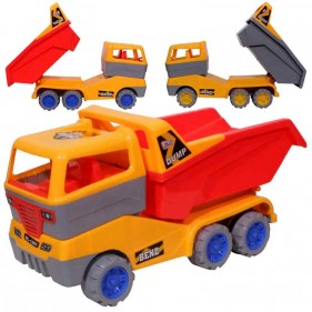 Jolly Benz Dumper Toy Friction Powered