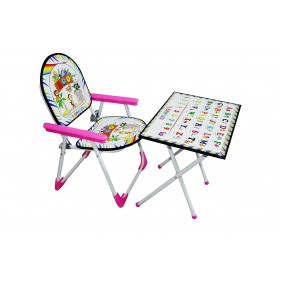 Bhasin Multipurpose Table Chair Toy Set