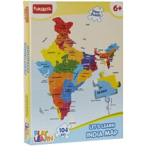 Let's Learn INDIA MAP (Play & Learn)